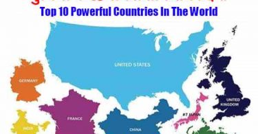 Top 10 Powerful Countries In The World