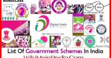 List of Government Schemes