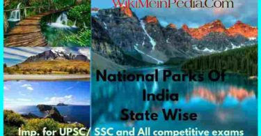 State-Wise National Parks