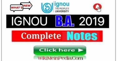 BA History Study Material Ignou Pdf
