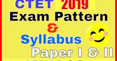 CTET Syllabus & Exam Pattern