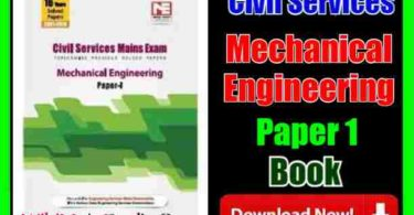 Civil Services Mechanical Engineering