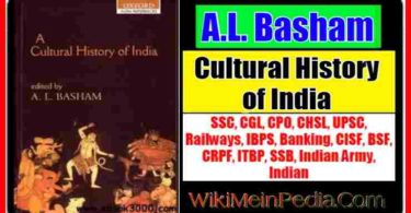 Cultural History of India by A.L. Basham