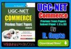 R Gupta's UGC-NET Commerce