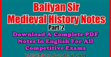Baliyan Medieval History Notes part 2