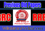 RRC Group D Old Question Papers
