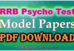 Railway Psycho Test Book