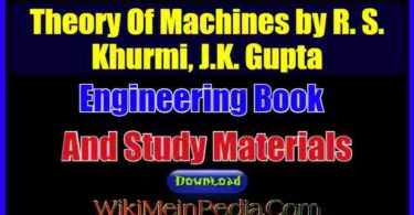Theory Of Machines by R. S. Khurmi