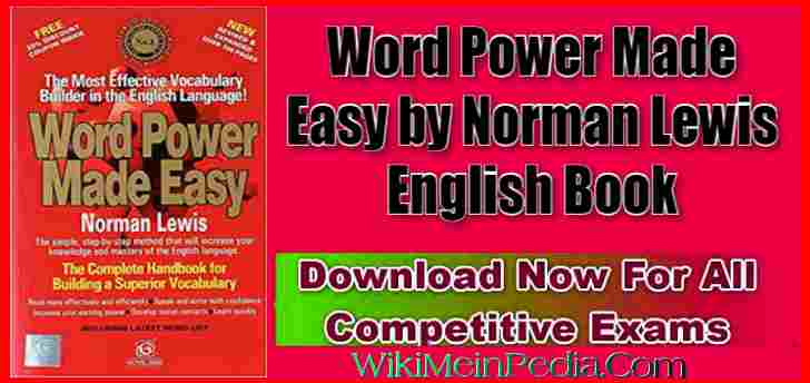 word power made easy pdf free download