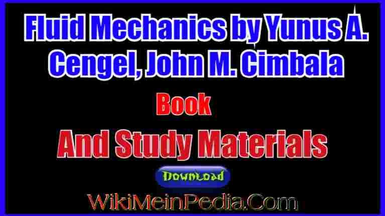 fluid mechanics cengel pdf