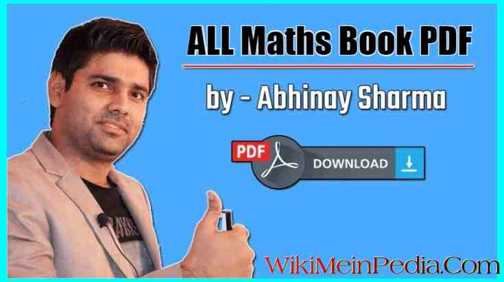 Abhinay Maths Book PDF