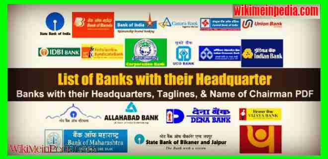 List of Banks with their Taglines