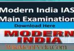 Modern India by vijay ved