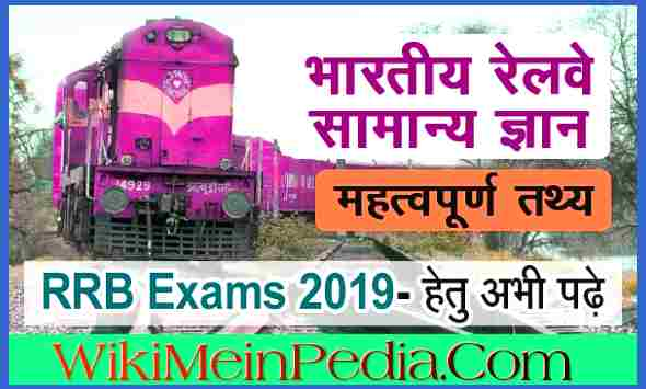 Railway GK 2019