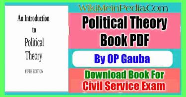 Political Theory by OP Gauba
