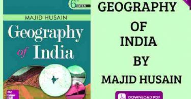 INDIA AND WORLD GEOGRAPHY BOOK