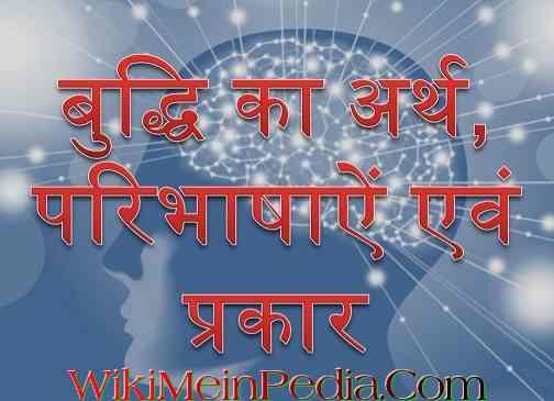 बुद्धि निर्माण एवं बहुआयामी बुद्धि और शिक्षा