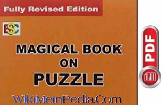 Magical Book on Puzzle by K Kundan