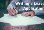 Leave Application - How to write leave application?