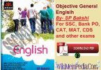 Objective General English by SP Bakshi Book PDF Free Download