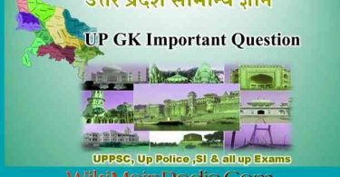 Uttar PradeshCurrent Affairs Questions And Answers |UP GK in hindi