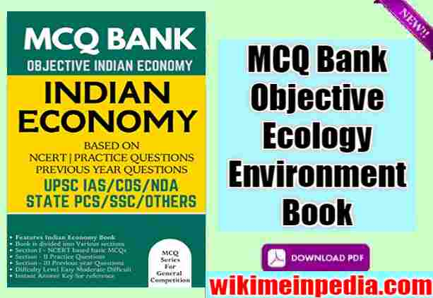 mcq bank objective ecology environment book pdf free download