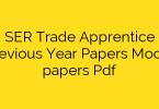railway ser rrc apprentice previous year paper – PDF