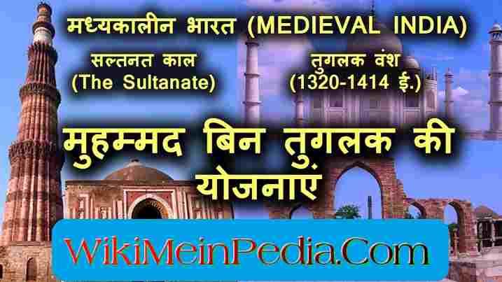 मोहम्मद बिन तुगलक (1325ई.-1351ई.) | Muhammad bin Tuglaq History in Hindi