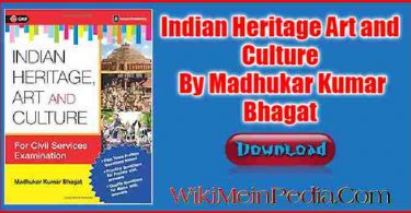 Indian Heritage Art and Culture Madhukar Kumar Bhagat PDF Download