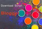 Happy Holi Wishing Script for Blogger or PHP [2020]