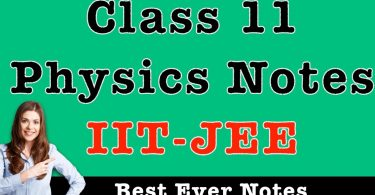 [PDF] NV SIR 11TH CLASS PHYSICS NOTES free for JEE MAIN