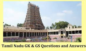 Tamilnadu GK PDF – तमिलनाडु सामान्य ज्ञान Free Download