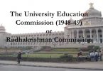 Radhakrishnan Commission/University Education Commission 1948-49