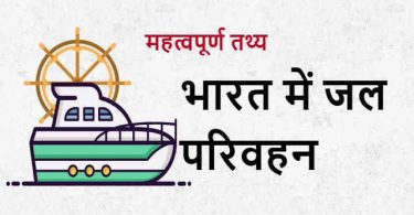 Essay On Water Transport In Hindi
