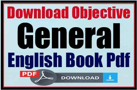 Objective General English By SP Bakshi PDF
