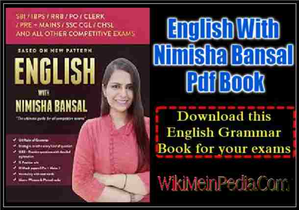English With Nimisha Bansal For All Competitive Exams Pdf Book